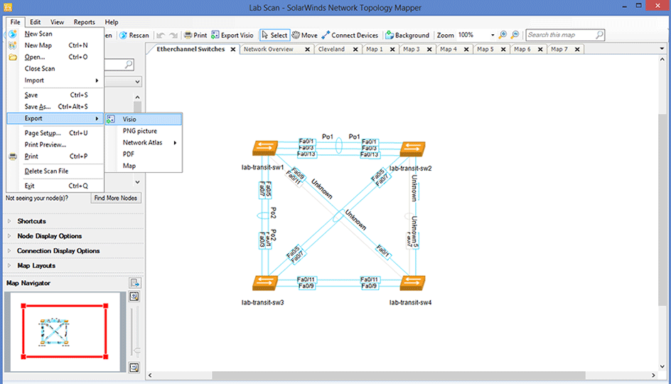 network mapping   network topology software   solarwindsimage  image  image  image