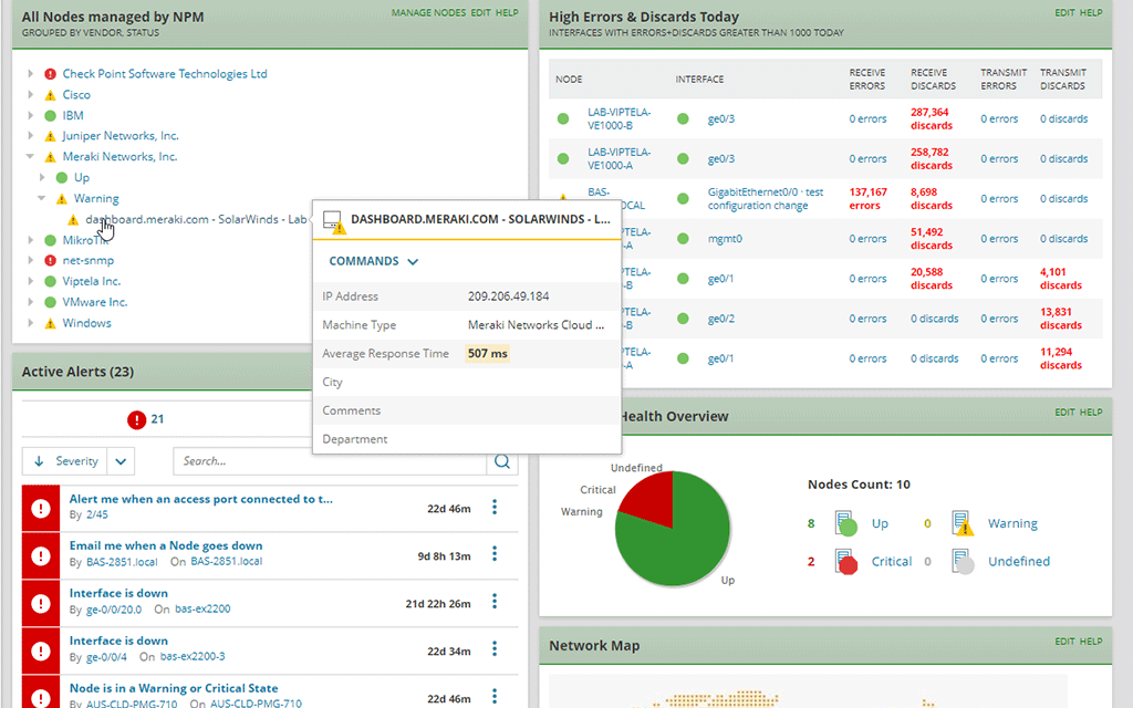 Wireless Network Monitor Easily Manage Wi Fi Networks Solarwinds