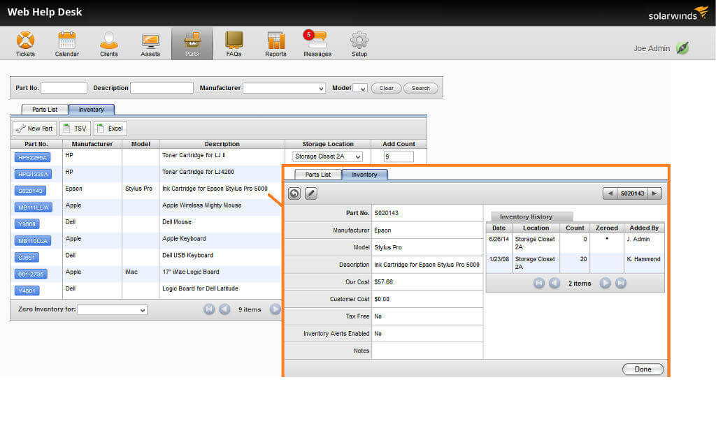 serial number warranty tracking software free