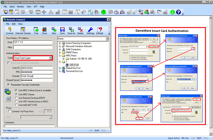 strengthened security in remote desktop connections