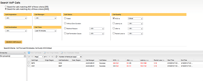 Troubleshoot Poor VoIP Call Quality   SolarWinds