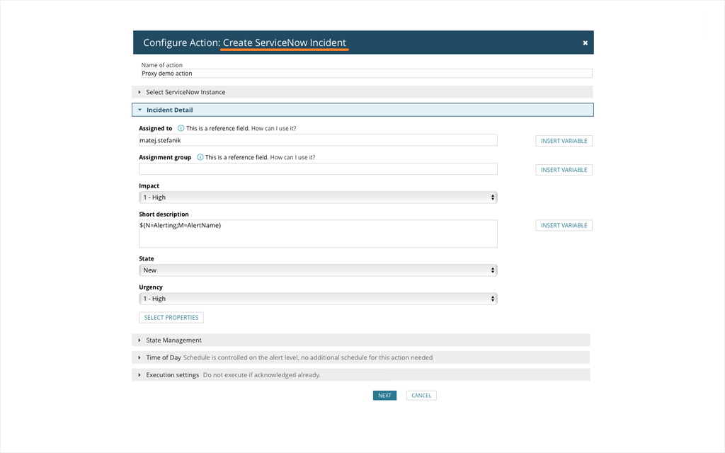 ServiceNow Integration - Automatic Ticket Creation | SolarWinds
