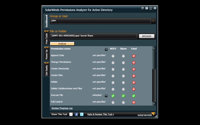 Permissions Analyzer for Active Directory