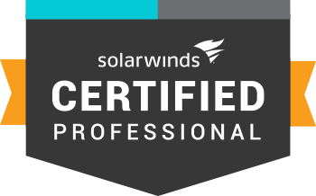 Network Certification | SolarWinds Certified Professional