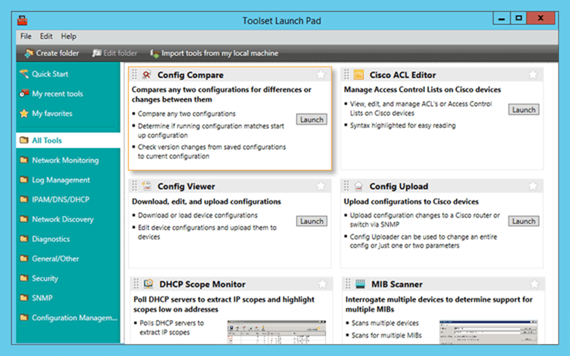 Config Compare Tool - Configuration Management | SolarWinds