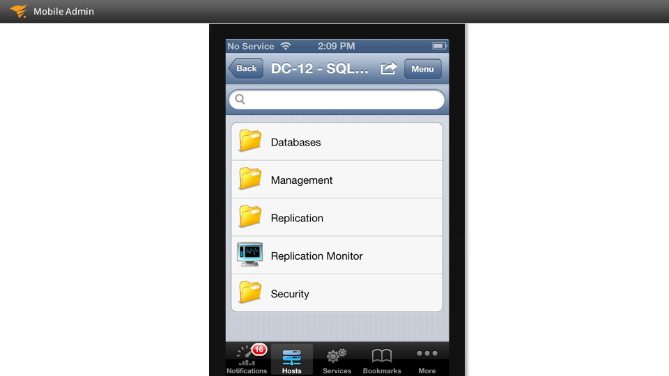 Mobile It Administration App Solarwinds