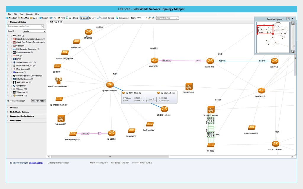 LANSurveyor Replaced by Network Topology Mapper | SolarWinds