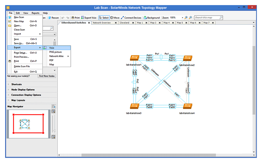 Network Mapping Software | SolarWinds