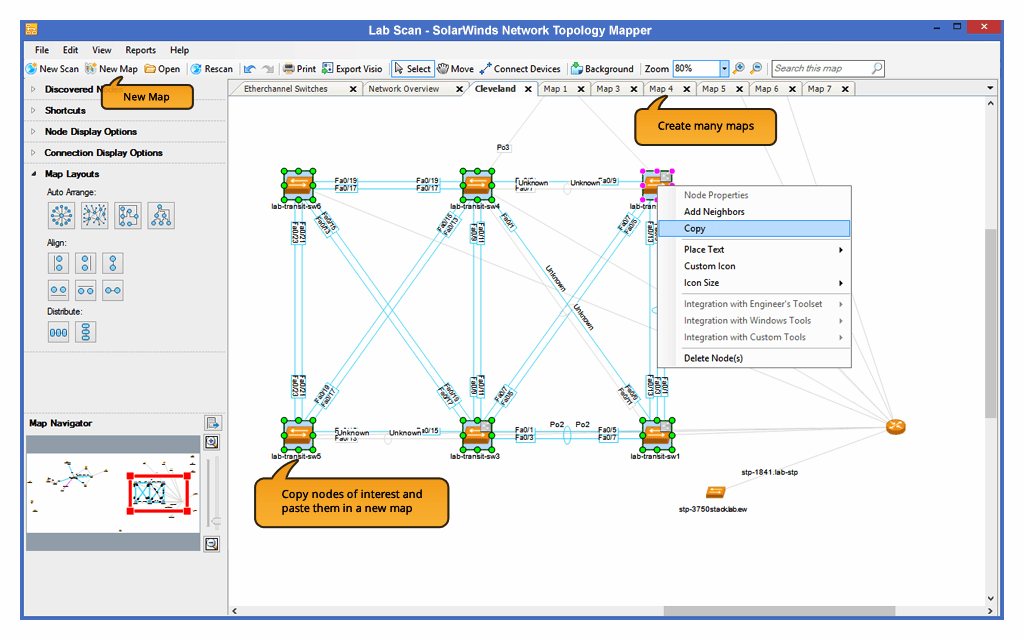Network Topology Mapper Topology Mapping Software Solarwinds