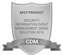 Cyber Defense Magazine: 2016 Best SIEM Solution - SolarWinds Log & Event Manager