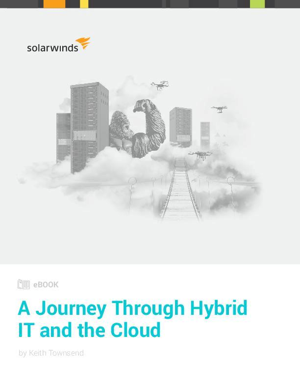 A journey through hybrid it and the cloud ebook solarwinds server application monitor fandeluxe Epub